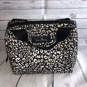 Vera Bradley Black & White Print Lunch Bag